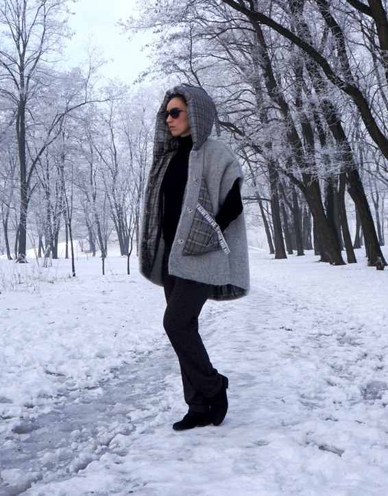 Куртки-трансформеры из новой коллекции Ludmila Kislenko