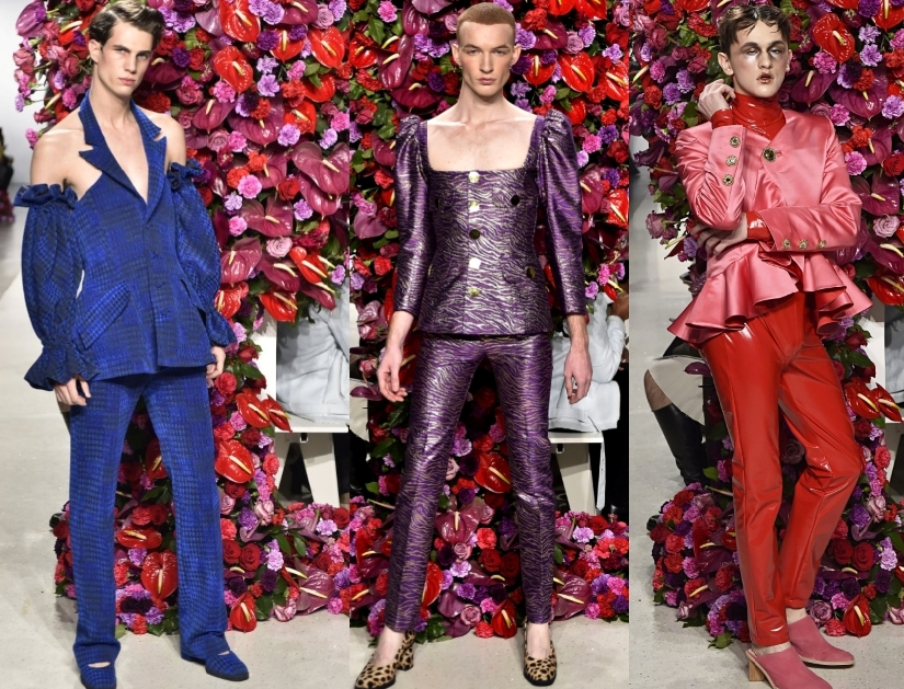 мужчины одетые как женщина теория моды