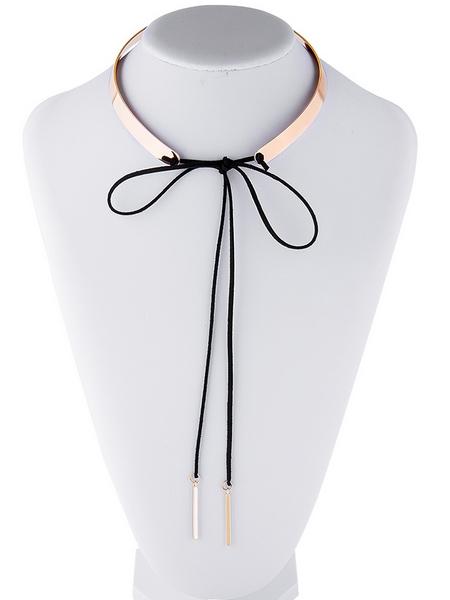 шнурок чокер лента на шею купить