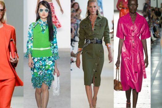 Трендовые цвета сезона весна 2017: как носить и с чем сочетать?