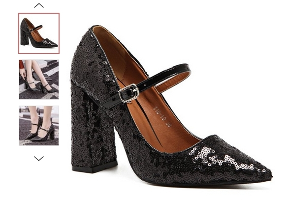 туфли с пайетками блестками как носить