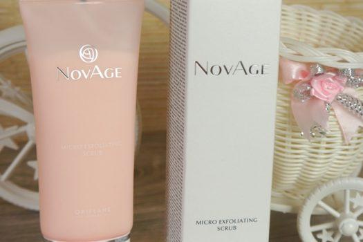 Обновляющий скраб для лица NovAge от Oriflame