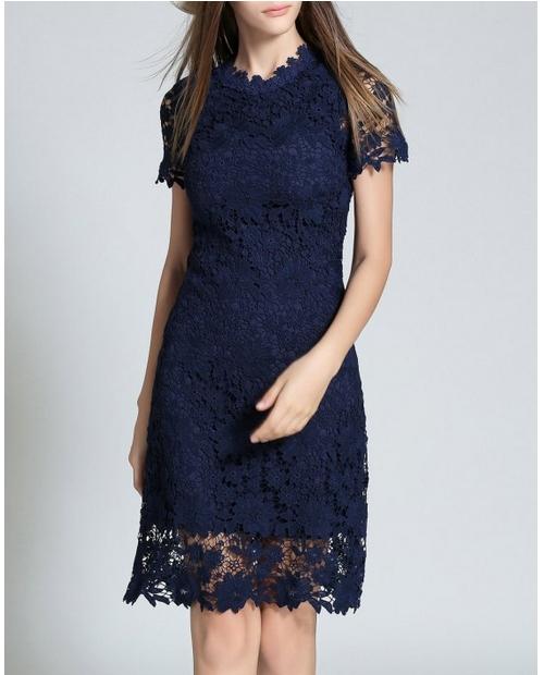 Как выбрать недорогое кружевное платье