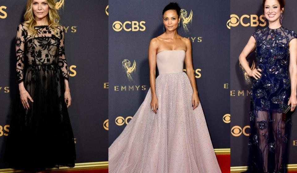 Emmy Awards 2017 - обсуждаем наряды
