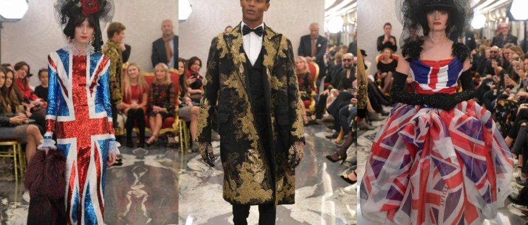 Dolce & Gabbana —  показ кутюрной коллекции в Лондоне