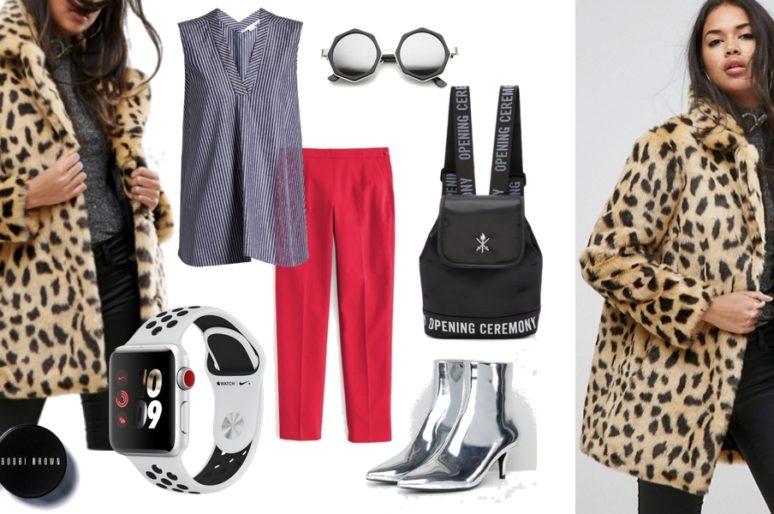 Вещь дня: леопардовое пальто из искусственного меха