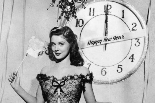 Платье для Нового года в ретро-стиле
