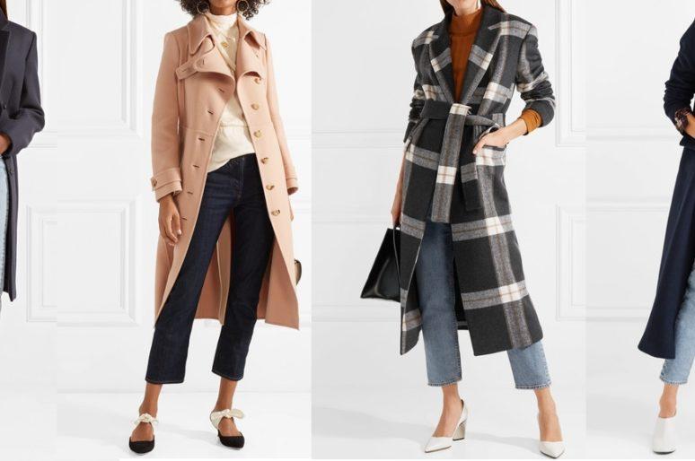 Пальто плюс джинсы
