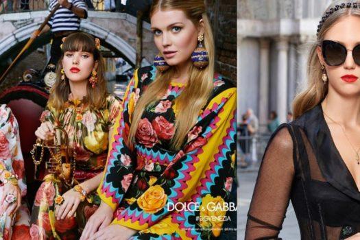 Dolce&Gabbana  рекламная кампания весна-лето 2018