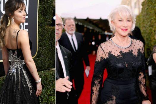 Черные платья на Golden Globe  — часть вторая