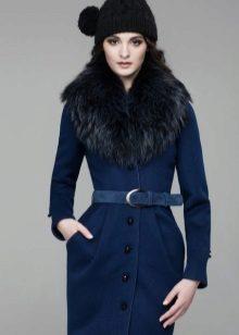 пальто с меховым воротником носить или не носить модный блог