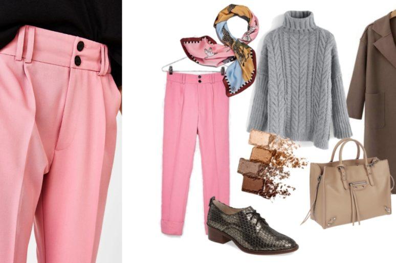 Вещь дня: розовые брюки Bershka