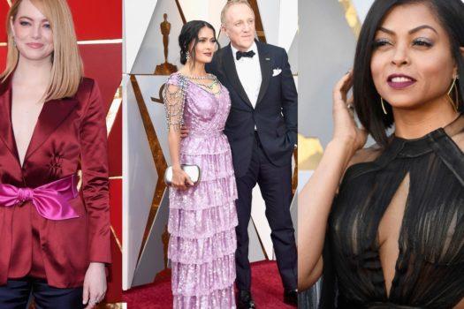 Oscar 2018 — платья