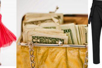 Затраты на одежду: цена за выход