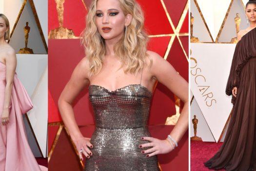 Oscar 2018 — платья. Часть вторая