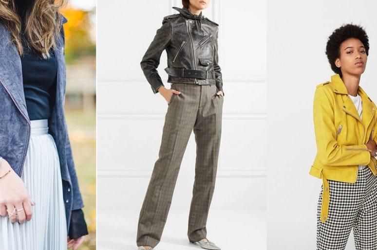 Трендовая косуха — с чем носить