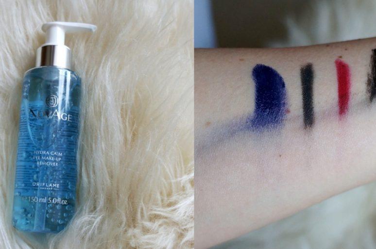Средство для снятия макияжа с глаз Oriflame NovAge Hyndra Calm Eye Make-up Remover