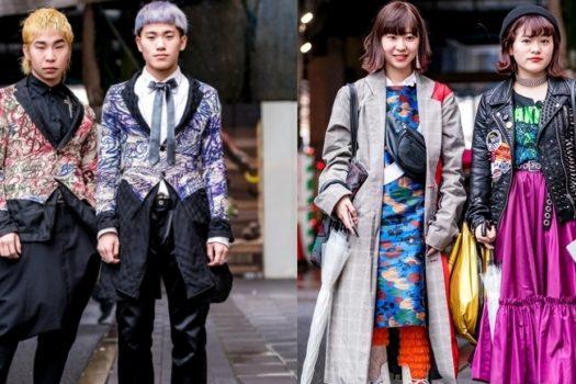 Стристайл с Токийской недели моды