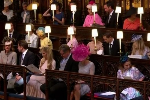 Гости королевской свадьбы: смотрим и обсуждаем