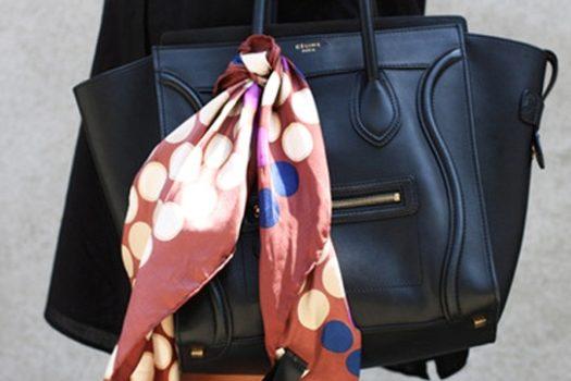 Микротренд: платок на сумке
