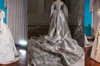 Свадебные платья принцесс XIX века