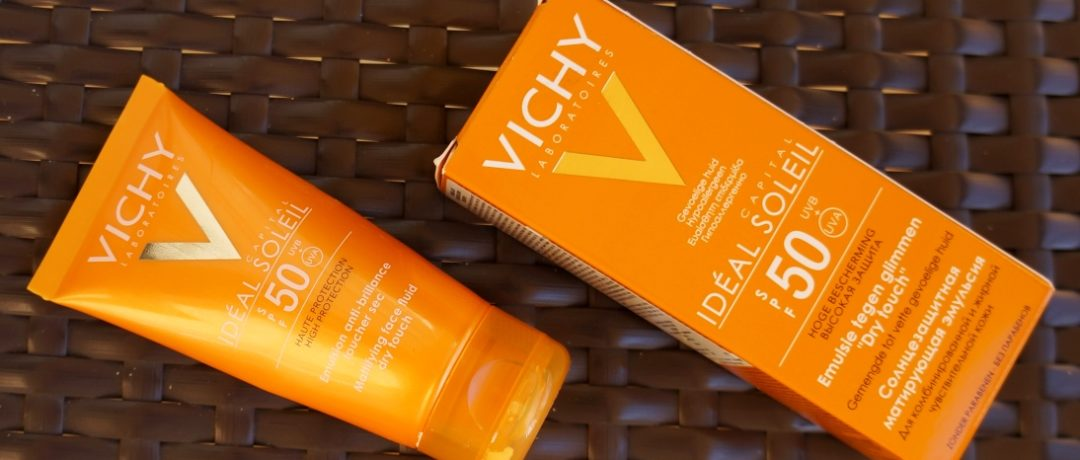 Солнцезащитная эмульсия для лица Vichy Ideal Soleil SPF 50