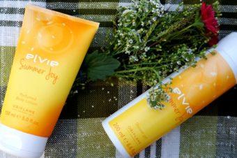 Elvie Summer Joy — гель для душа и парфюмированый лосьон для тела от Oriflame