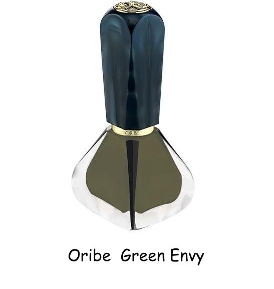 оливковый трендовый маникюр