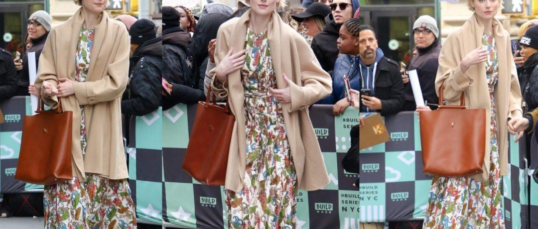 Элизабет Дебики и ее цветочное платье