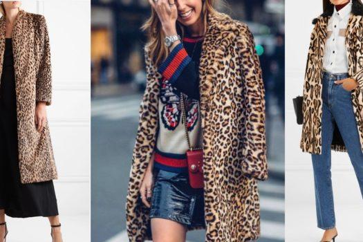 В тигровой шкуре — хищный принт на верхней одежде