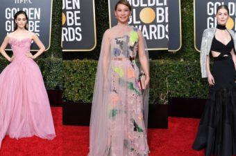 Платья с Golden Globe 2019
