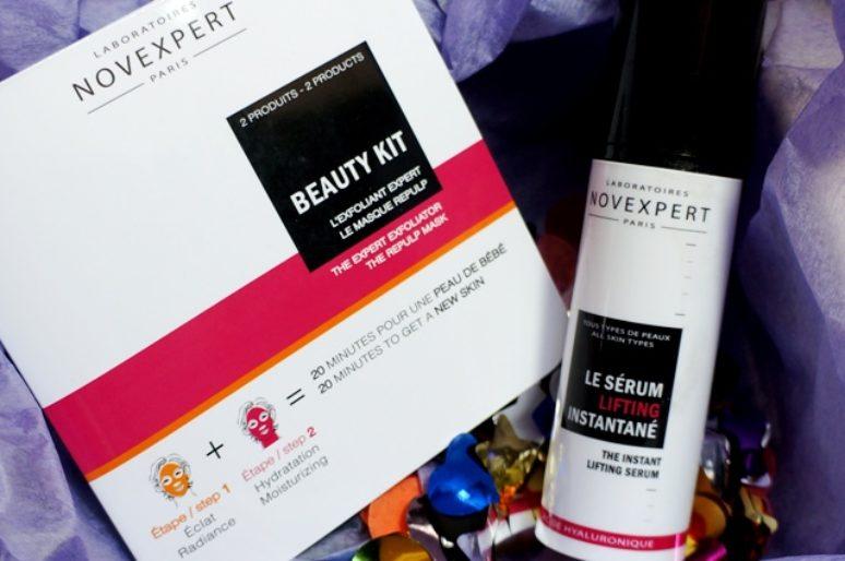 Экспресс наведение красоты вместе с Novexpert