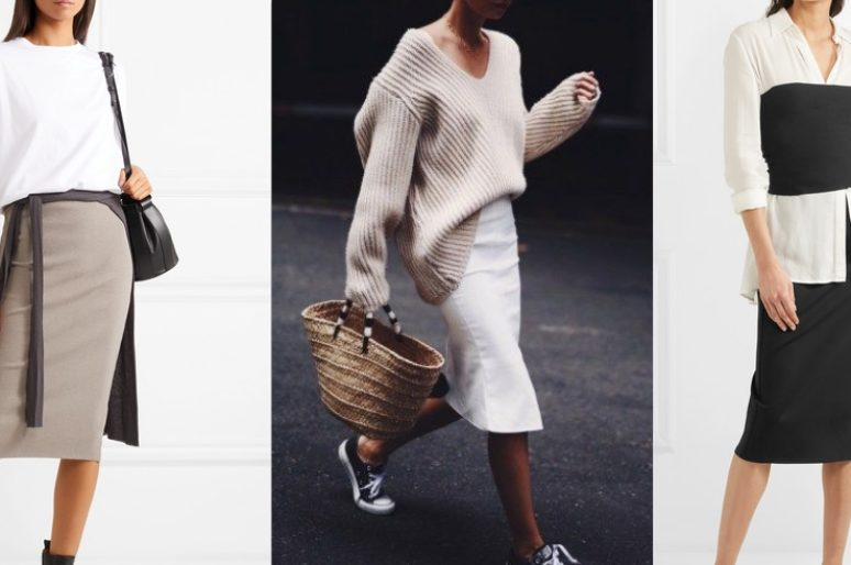 5 актуальных идей для юбки-карандаш