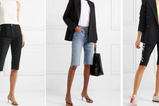 Узкие и длинные шорты: как развивается тренд