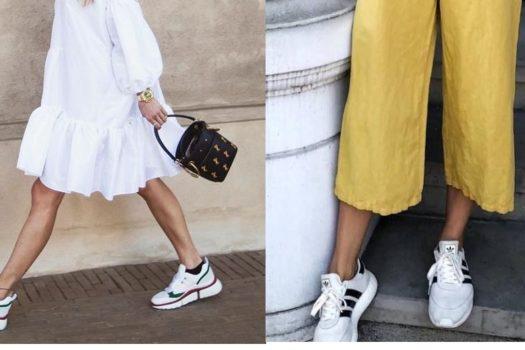 Белые кроссовки летом: 8 принципов сочетаний