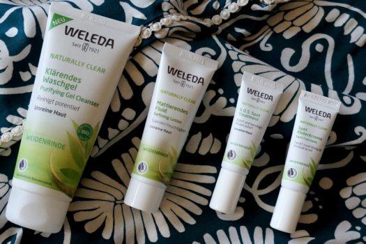 Серия для проблемной кожи Weleda Naturally Clear