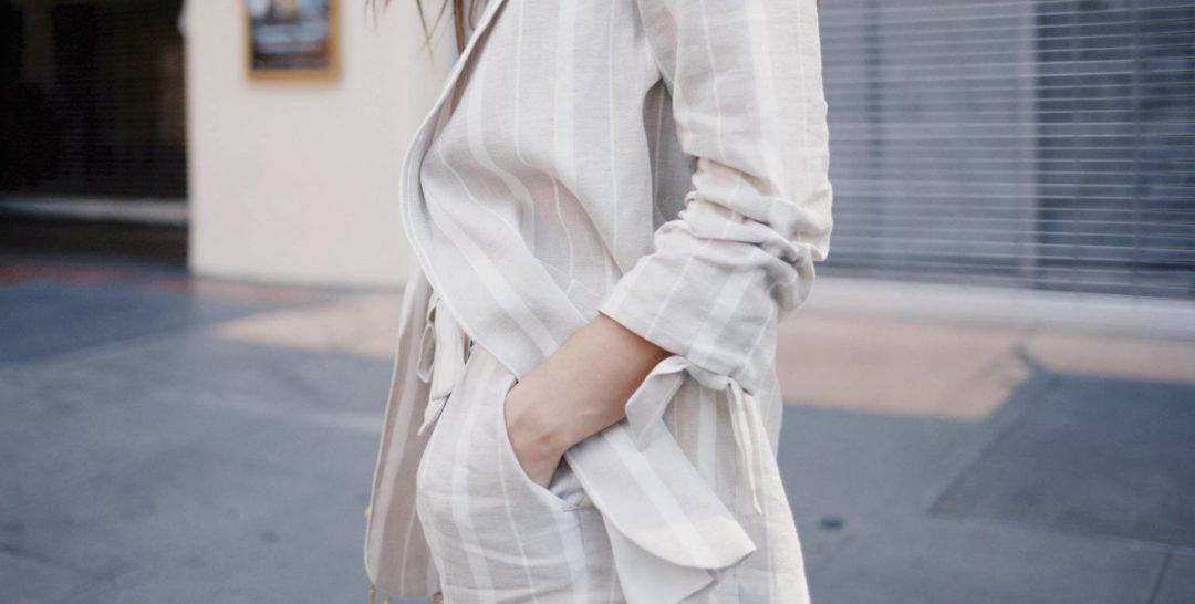 костюм лен как носить