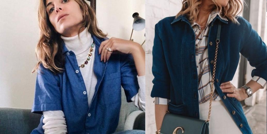 джинсовая рубашка осень 2019