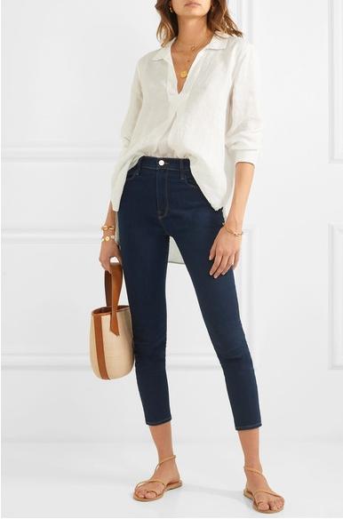 Как носить джинсы и не выглядеть скучно