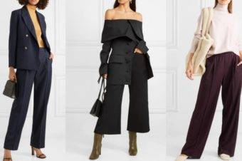 Актуальные брюки: путеводитель по длине и ширине