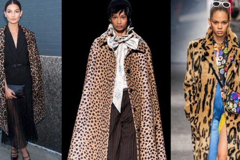 Как тигра лютая: пальто с хищным принтом