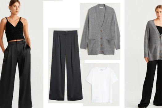 Пример подбора и использования базового гардероба