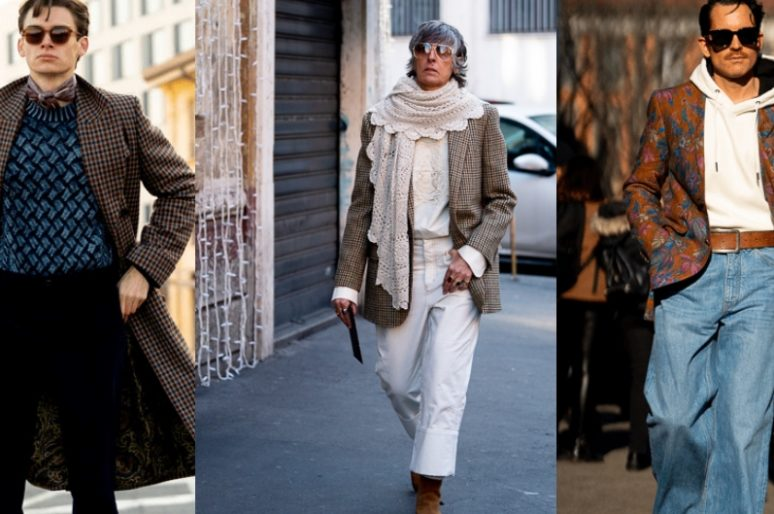 5 стильных идей: вдохновляемся стритстайлом Milan Menswear Fashion Week