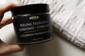 Кофейно-сахарный скраб для тела с маслом корицы от ASOA
