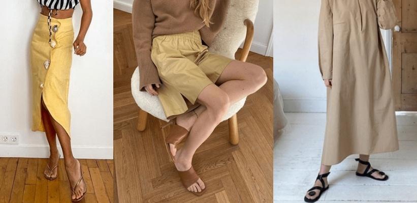 обувь тренды лето 2020