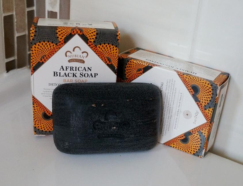 Африканское черное мыло от Nubian Heritage