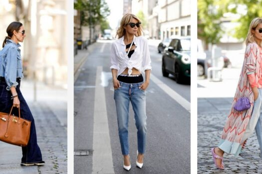 7 летних образов с джинсами, которые стоит повторить
