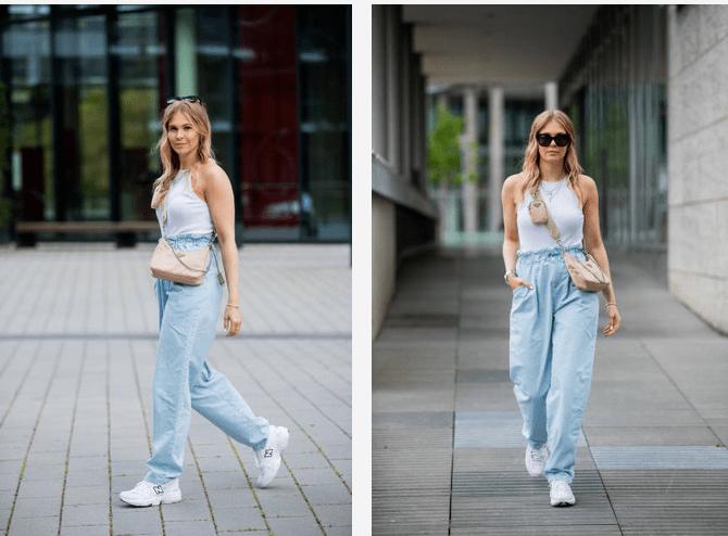 7 летних образов с джинсами