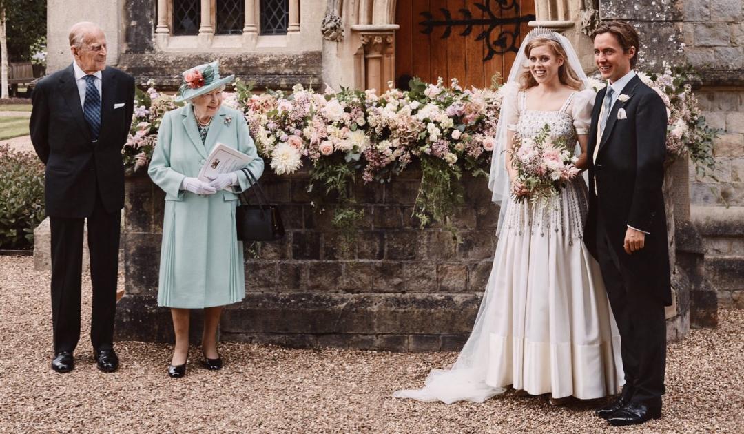 свадьба принцессы Беатрис