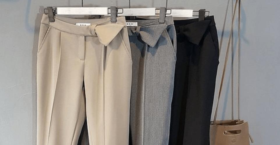 брюки для широких бедер